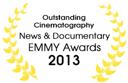 EMMY Award 2013 Outstanding Cinematography